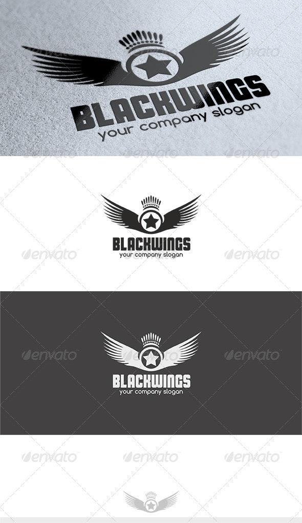Black Wings Logo