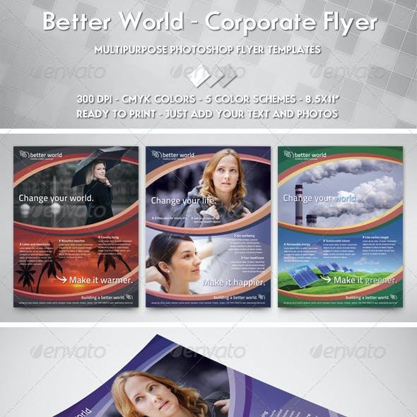 Better World Flyer