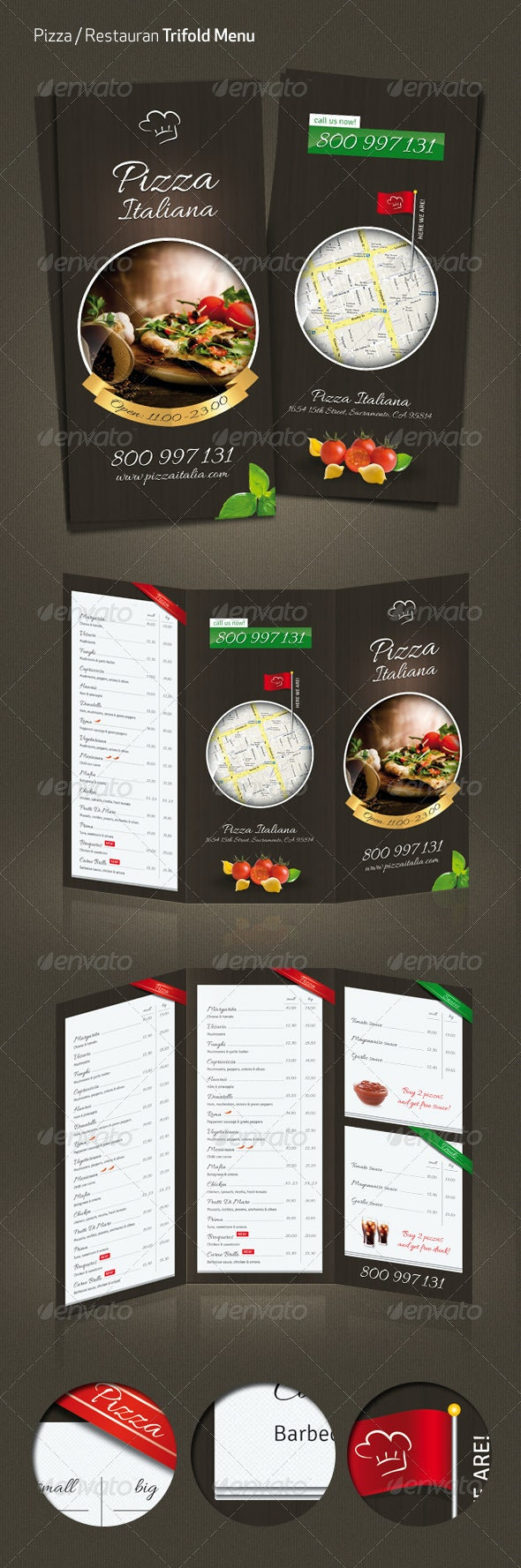 Pizza / Restaurant Menu