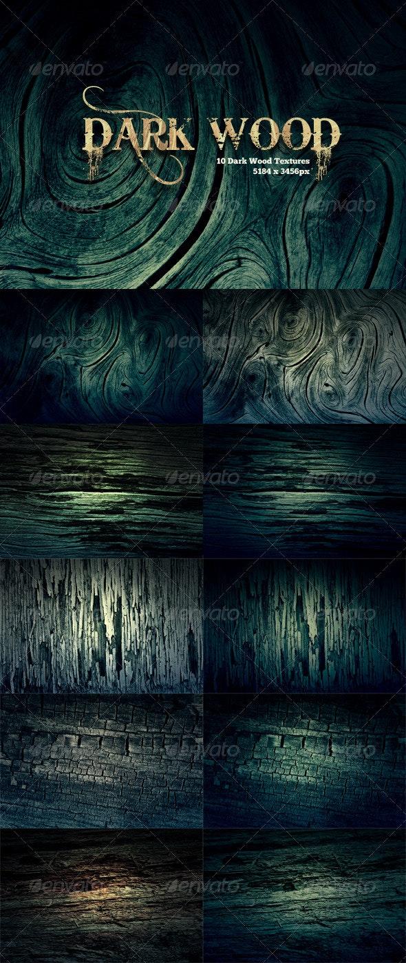 10 Dark Wood Grunge Texture Pack - Wood Textures