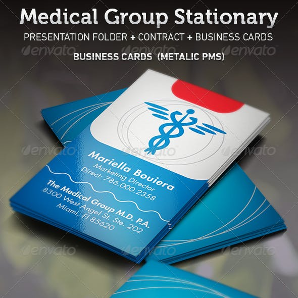 Medical Group Stationary Template