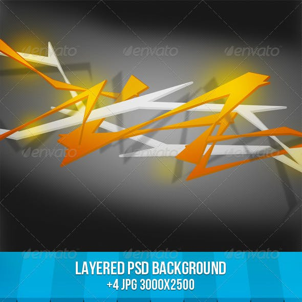 Spiky Abstract Background