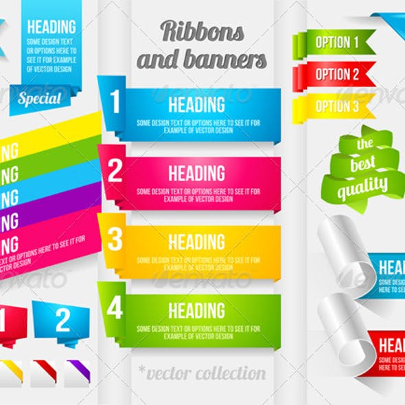 Ribbon and Banner Collection