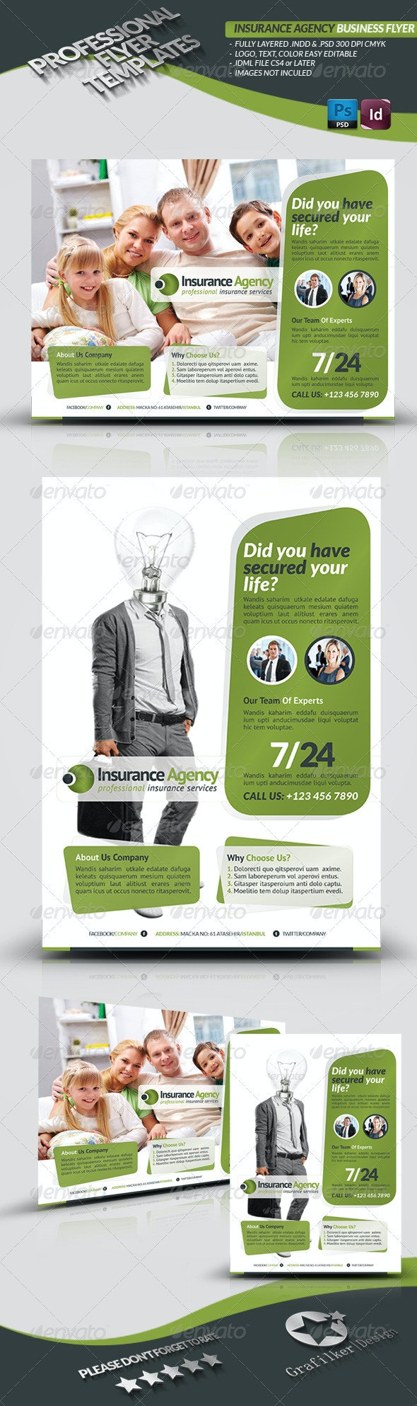 Insurance Agency Flyer - Corporate Flyers