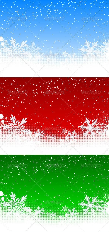 Winter Background - Backgrounds Decorative