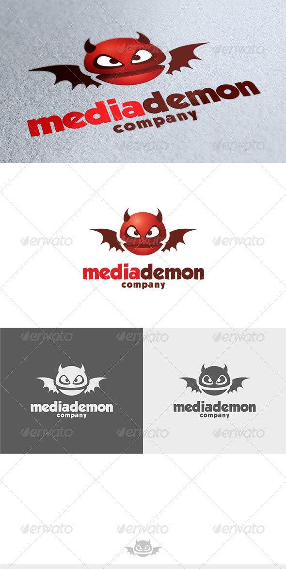 Media Demon Logo - Symbols Logo Templates