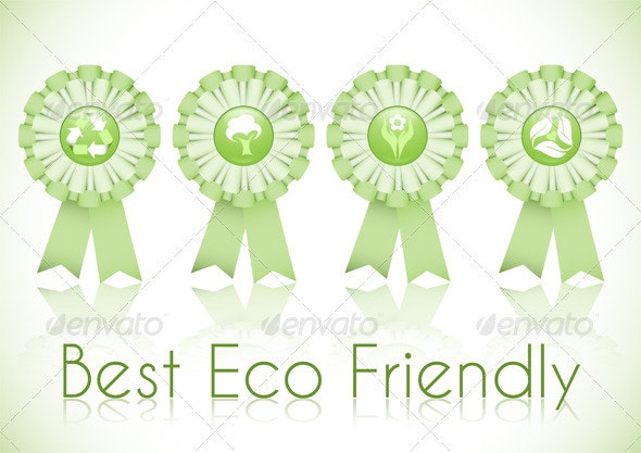 Eco Friendly - Decorative Symbols Decorative