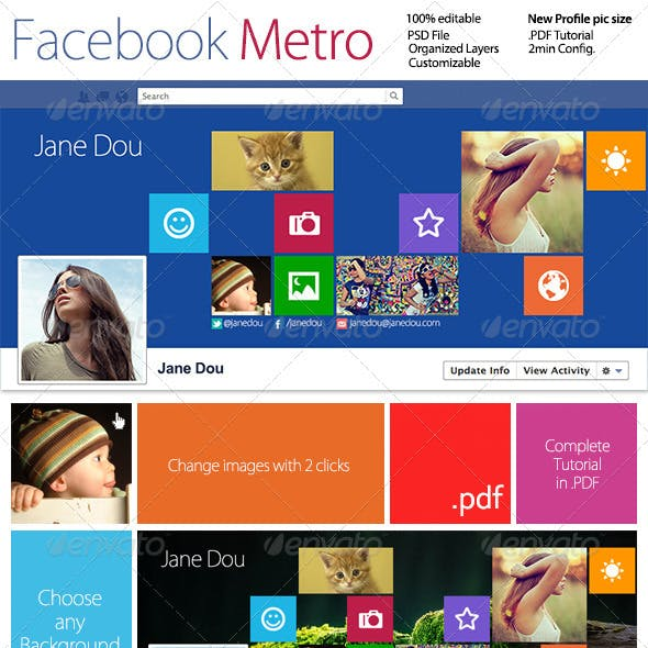 FB Metro Timeline Cover