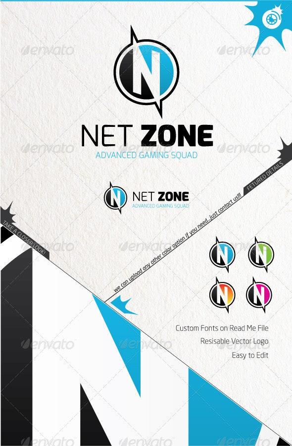 Net Zone - Letters Logo Templates