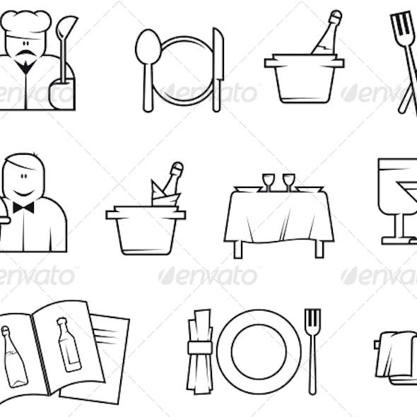 Restaurant Symbols