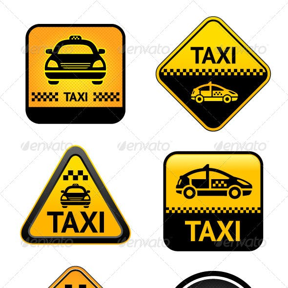Taxi Set Buttons
