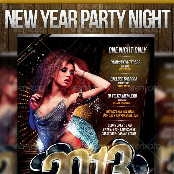 2013 New Year Party Night