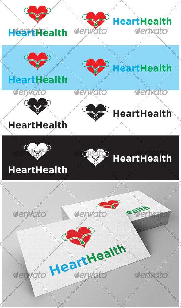 Heart Health Logo - Symbols Logo Templates