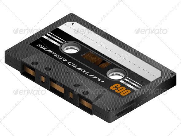 Cassette Tape - Retro Technology