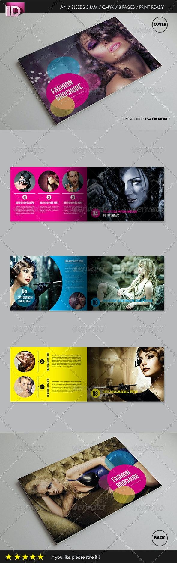 Fashion Brochure (Vol 1) - Brochures Print Templates