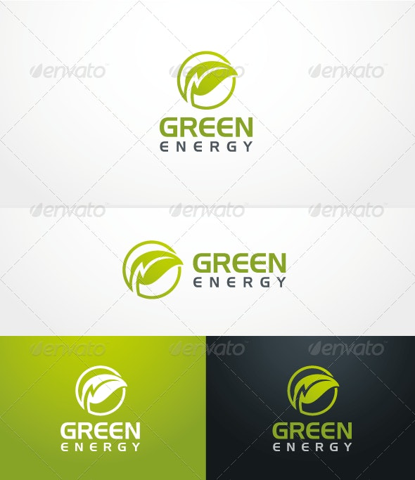 Green Energy - Logo Template - Nature Logo Templates