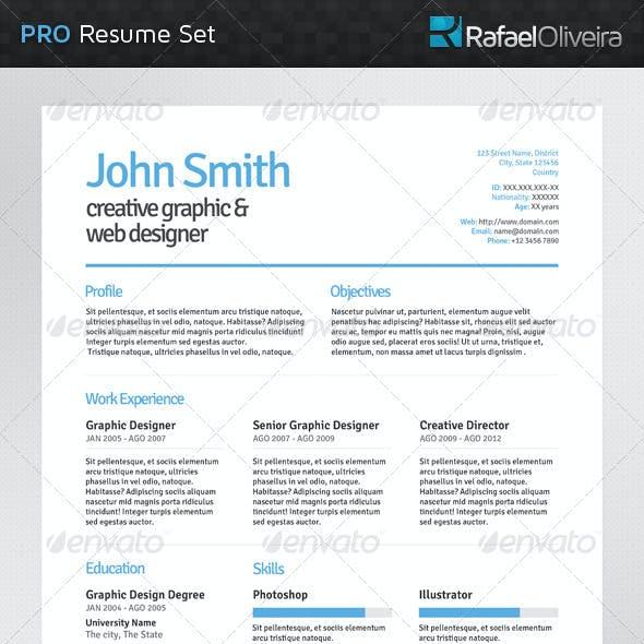 Pro Resume Set
