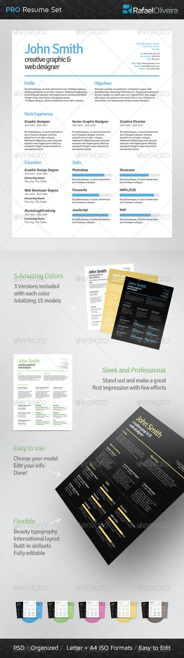 Pro Resume Set - Resumes Stationery