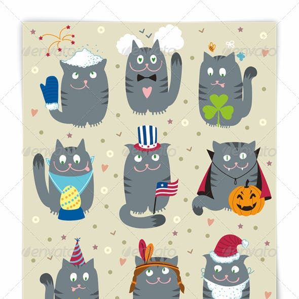 Cats Celebrating Holidays