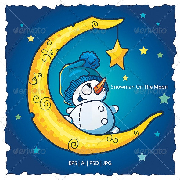 Snowman On The Moon - Miscellaneous Characters