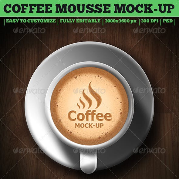 Coffee Mousse Mock-Up