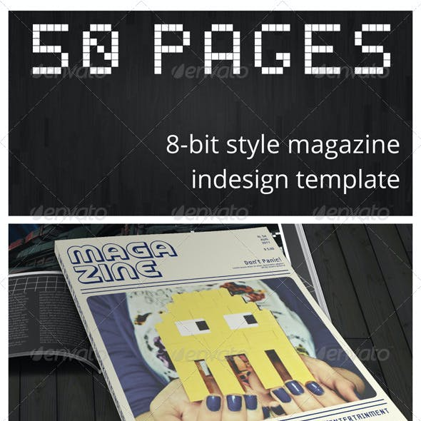 50 Pages Geek Magazine
