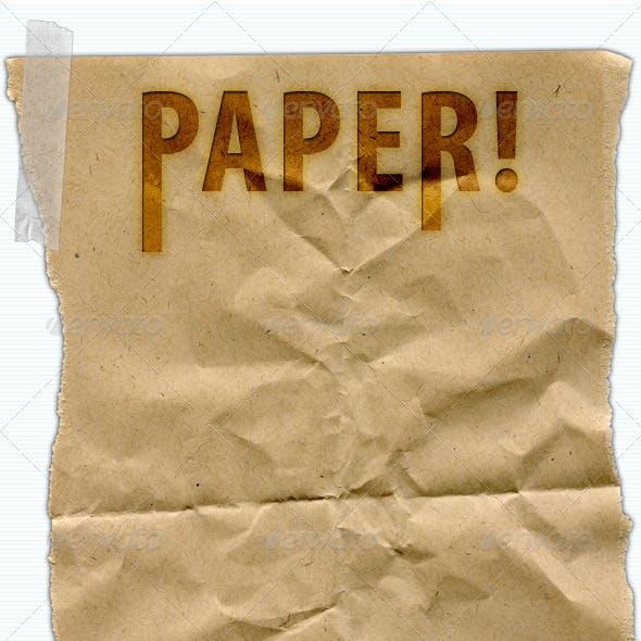 Paper Fibers