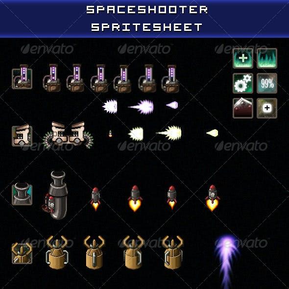 Space Shooter Spritesheet