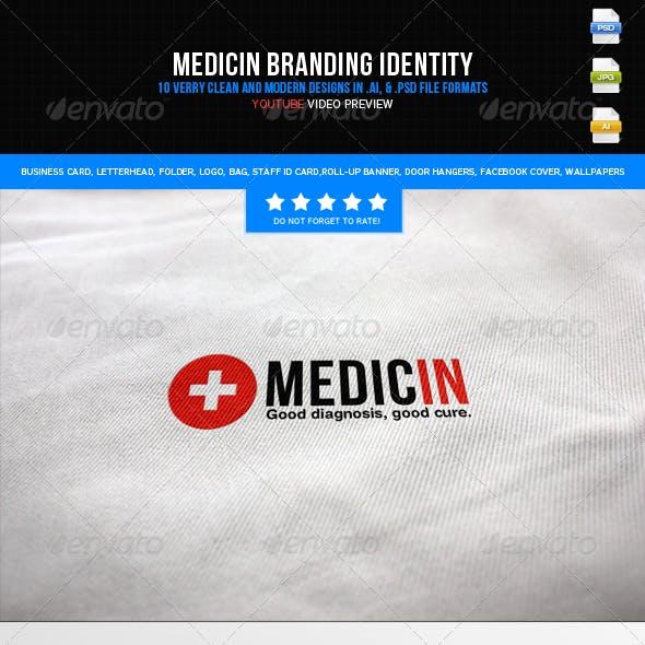 Medicin - Branding Identity (Big Pack)