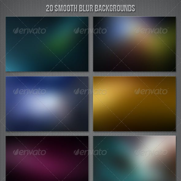 20 Smooth Blur Backgrounds