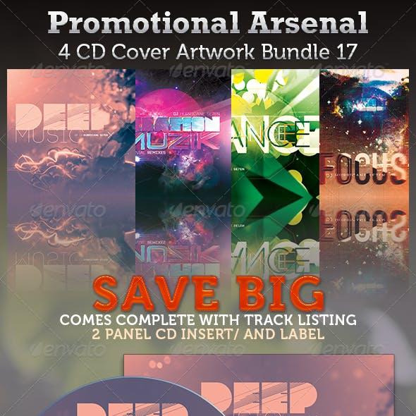 Promotional Arsenal CD Cover Artwork Bundle 17