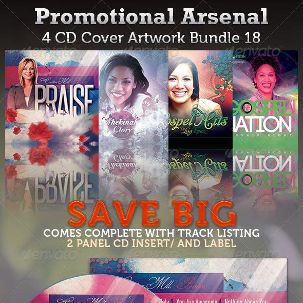 Promotional Arsenal CD Cover Artwork Bundle 18