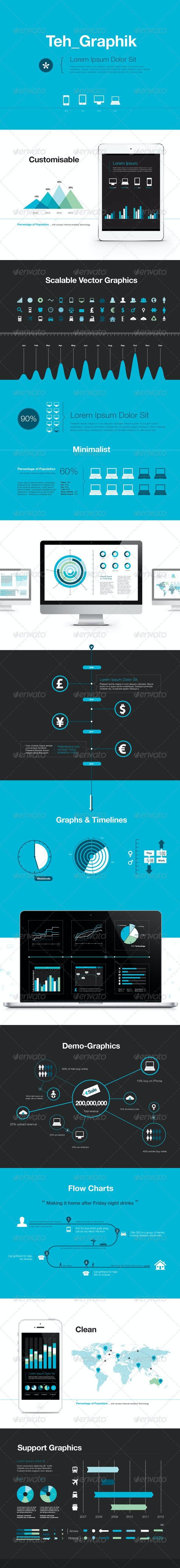 Graphik - Infographic Kit - Miscellaneous Vectors