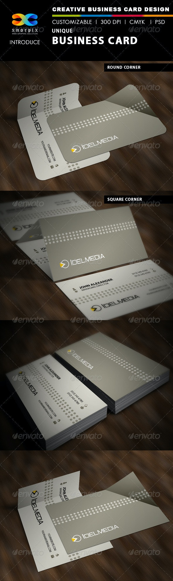 Unique Business Card - Corporate Business Cards