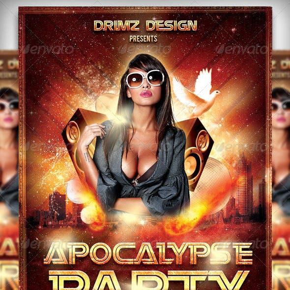 Apocalypse Party Flyer