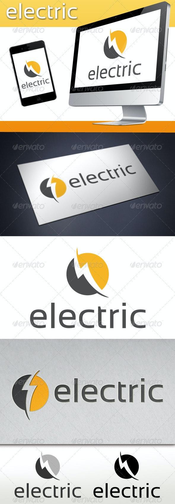 Electric Logo Template - Symbols Logo Templates