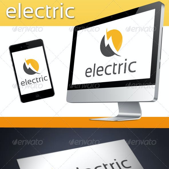 Electric Logo Template