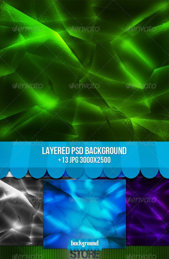 Glass Texture - Nature Backgrounds