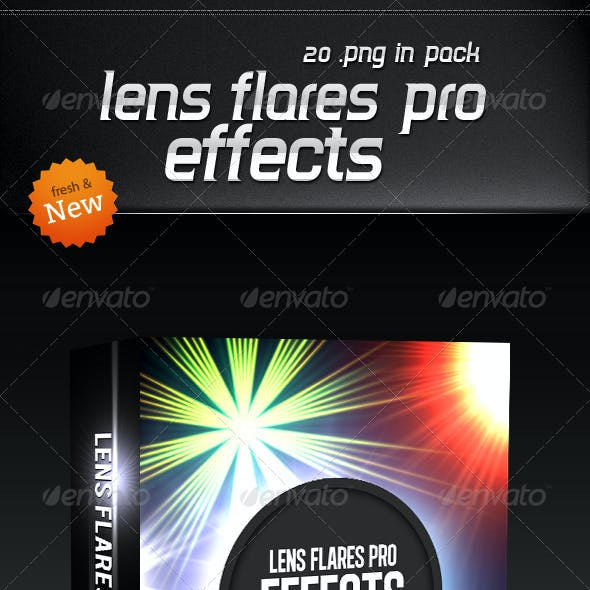 Lens Flares Pro Effects