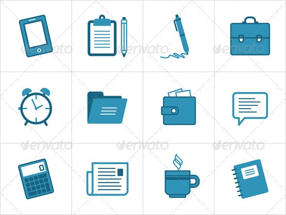 Office And Business Icons - Business Icons