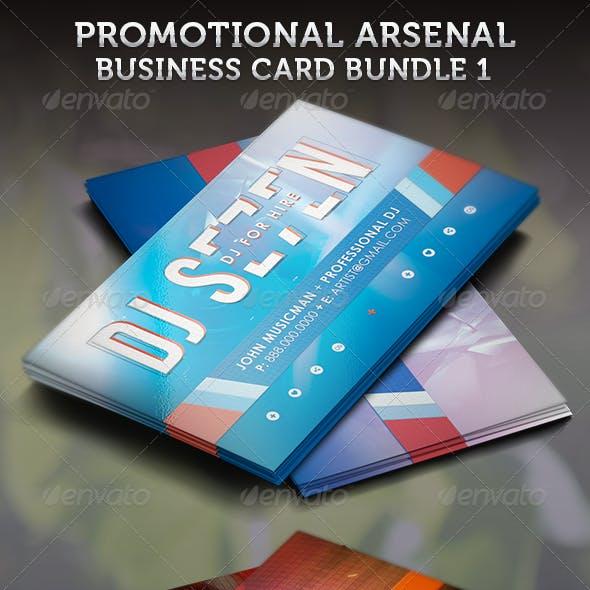 Promotional Arsenal Business Card Bundle 1