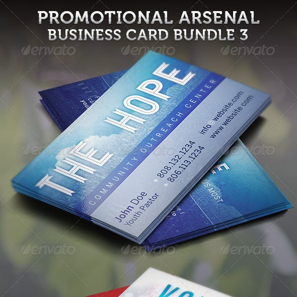 Promotional Arsenal Business Card Bundle 3