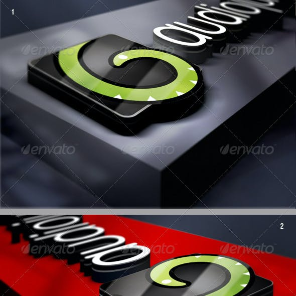 Corporate Logo Mock-up v2