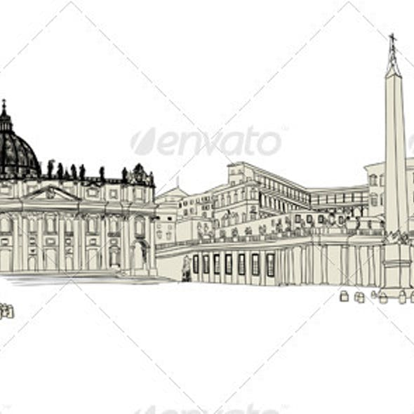 Vatican Sketch