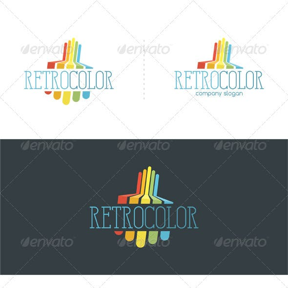 Retro Color Logo