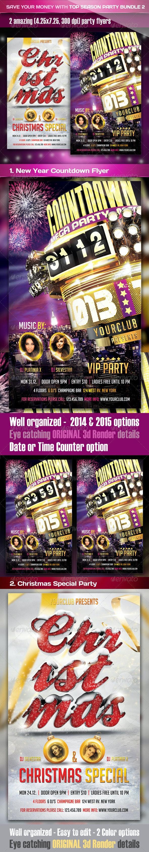 Top Season Party Bundle 2 - Clubs & Parties Events