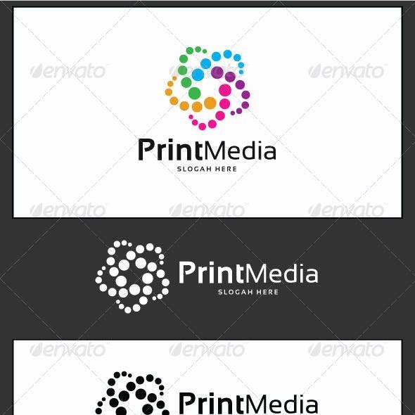 Print Media Logo Template