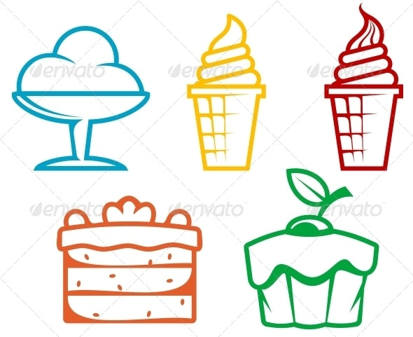 Dessert Food - Food Objects