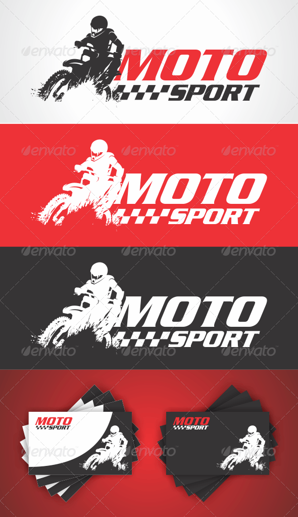 Moto Sport Logo - Humans Logo Templates