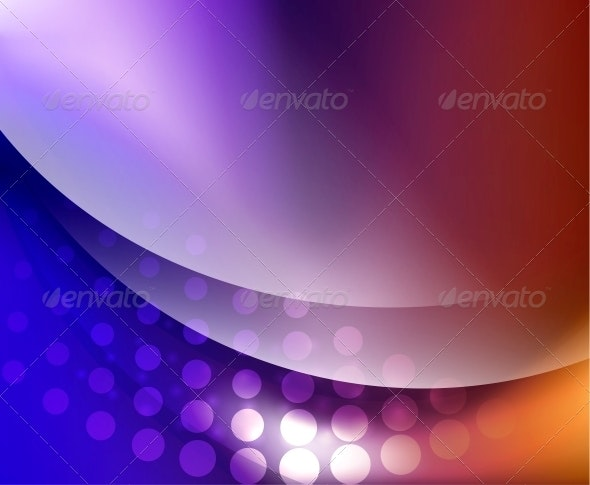 Wave Abstract Background - Backgrounds Decorative